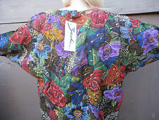 blouse top 90s roses gold paint 90s sleeves 90s style amazing art shirt FESTIVAL