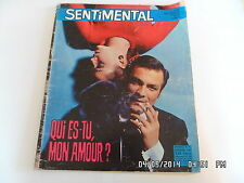 SENTIMENTAL N°21 NOV 1968 ROMAN PHOTO ENRICO MACIAS TOM JONES GERALDINE    F85
