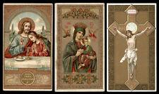 lotto santini-holy cards lot-lot images pieuses-konvolut heiligenbildichen n.068