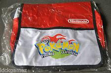 Official Nintendo Pokemon Fire Red Leaf Green Messenger Bag moon vintage go