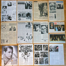 CARY GRANT spanish clippings 1960s/70s photos vintage magazine actor