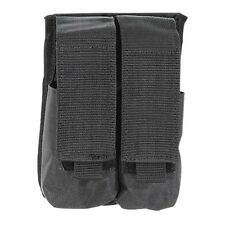 Voodoo Tactical Dual Double SWAT M18 Smoke Grenade Pouch MOLLE Black 20-9329