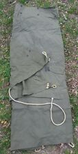 ONE Shelter Half Tent USGI US Military Halves (NO POLES OR STAKES) MINT