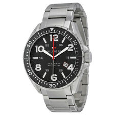 Tommy Hilfiger Black Dial Stainless Steel Mens Watch 1791135
