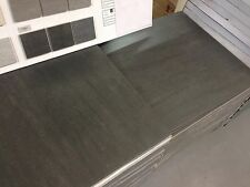 ITALIAN 60x60cm ANTHRACITE MATT PORCELAIN WALL & FLOOR TILE TILES  £19.99 PER m2