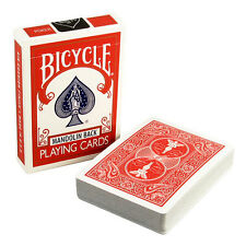 1 Deck Red Bicycle Mandolin Back Poker Playing Cards