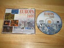 Europa 1400 The Guild PC CD-ROM 2002 JoWooD Productions 4HEAD for Windows XP/98