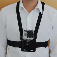 Adjustable Body Harness Chest Belt Strap Mount Accessory For Gopro Hero3+3 2 1 B