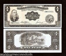 PHILIPPINES 1 PESO P133h 1949 MABINI FLAG PILIPINO UNC CURRENCY MONEY BILL NOTE