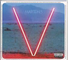MAROON 5 V DELUXE EDITION + 3 BONUS TRACKS CD BRAND NEW SEALED 2014 DIGIPAK