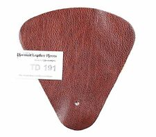 Ranchero Chestnut Brown Scrap Leather Craft Piece Approx. .25 sq.ft. TD191