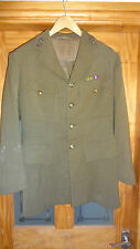 WW2 ROYAL ARTILLERY ARMY OFFICER's No2 SERVICE DRESS UNIFORM  JACKET