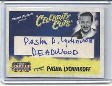 "2011 AMERICANA. PASHA LYCHNIKOFF, ""CELEBRITY CUTS"" AUTOGRAPH. ""DEADWOOD"". 15/20."
