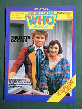 DOCTOR WHO MAG - NO 89 - JUNE