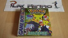 NINTENDO GAME BOY POKEMON JADE SPECIAL PIKACHU EDITION SHINY NEW NEUF NEU NUOVO