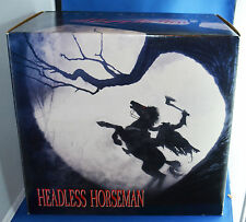 TIM BURTON'S SLEEPY HOLLOW HORROR STATUE * THE HEADLESS HORSEMAN *