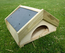 Tortoise/Guinea Pig/Hedgehog/Ferret/Small animal houseREMOVABLE FLOOR slate roof