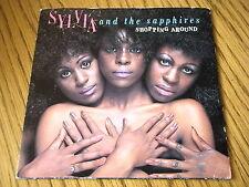 "SYLVIA & THE SAPPHIRES - SHOPPING AROUND   7"" VINYL PS"