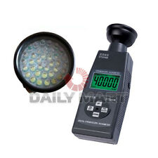 NEW Handheld Stroboscope-Tachometer DT2240B LED Light 60~39,999RPM