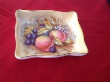 Aynsley England ~FRUIT ORCHARD  Hand Painted Candy Bowl Dish