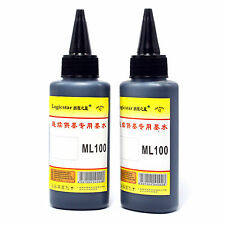 2 PCS 100ml Black Cartridge Refill Ink for All Printer Set