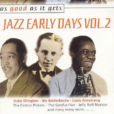 As Good as It Gets: Jazz Early Days, Vol. 2 by Various Artists (CD, Mar-2001,...