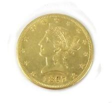 U.S. Gold Coin, $10 Liberty head, type 2 with mott Lot 139