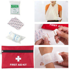Camping Outdoor First Aid Empty Kit Bag Travel Sport Medical Emergency Survival