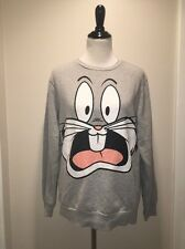 WB Warner Brothers Crew Neck Pullover M Forever 21 Bugs Bunny SHIPS FREE! C36