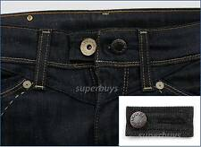 Black Denim Pants Shorts Jeans Trouser Extension Expansion Enlarge Waist Size