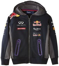 Pepe Red Bull Racing Collection Boy's OTL Hoodie Junior Sweatshirt Navy Aged 4yr