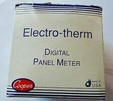 NEW ELECTRO-THERM DIGITAL PANEL METER PM 400K  61  115VAC, SERIAL3 C276207