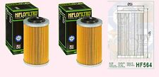 2x HF564 Oil Filter for Can Am 990 GS Spyder   2008-09