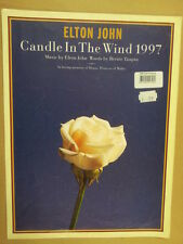 song sheet CANDLE IN THE WIND 1997 Elton John