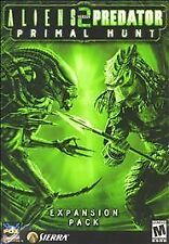 Aliens versus Predator 2 + Primal Hunt Expansion vs PC CD good shape free ship