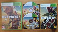 max payne 3  Xbox 360 / Fr intégral / complet / bé / envoi gratuit et rapide !
