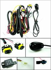 H11 Fog Light Wiring Harness w/Universal Switch, Relay, Wire, & Connectors