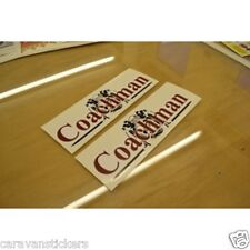 COACHMAN Gents Front Roof or Gas Locker Caravan Sticker Decal Graphic - SINGLE