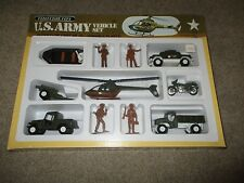 Diecast Tootsietoy US Army Vehicle Set MISB 1982 Vehicles & Plastic Soldiers