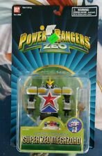 "Power Rangers Zeo Bandai 1996 5"" SWORD SWINGING SUPER ZEO MEGAZORD FIGURE SEALED"