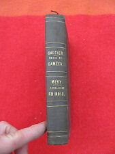 1853 Émau et Camées par Théophile Gautier + Anglais et Chinois par Méry
