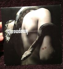 """Throwdown Covered With Venom 7"""" EP Limited Edition Color Vinyl WHITE Hardcore NY"""