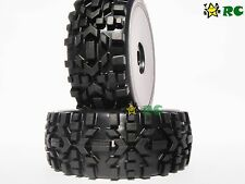 1:8 RC All Terrain Buggy Tires Wheels for HPI XTR Badlands Car Upgrade (2)