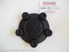 Volkswagen Caddy centre cap for steel wheel - BRAND NEW - GENUINE VW - SINGLE