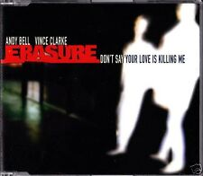 Erasure-Don 't say your love is Killing me * MS-CD * NUOVO *