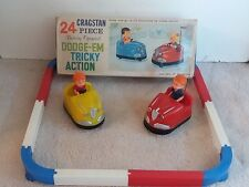 vintage Cragstan Dodge-em tricky action battery operated toy funfair, Hong Kong