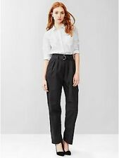 Gap Women's Black Ink Paper Bag Waist Pants Size 20