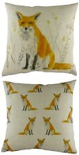 43cm Fox Wrap Repeat Cushion - Evans Lichfield Rural DP633