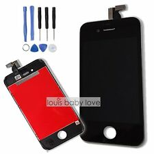 For Apple iPhone 4 4G Screen Touch LCD Digitizer Display Lens Replacement Black