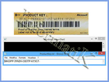 Ricerca Product Key Finder per Microsoft Windows XP / Vista / 7 / 8 / 8.1 / 10